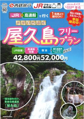 世界自然遺産 屋久島フリープラン